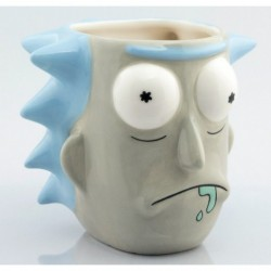 Taza 3d Rick And Morty Sanchez
