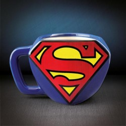 Taza 3d logo Superman